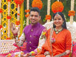 Inside pictures from Kangana Ranaut's brother's pre-wedding festivities