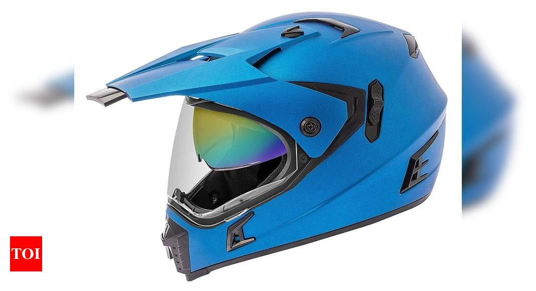 Double visor helmets: Top 7 choices for passionate riders | Most Searched  Products - Times of India