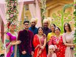 Inside Kangana Ranaut's brother Aksht's lavish wedding ceremony in Udaipur
