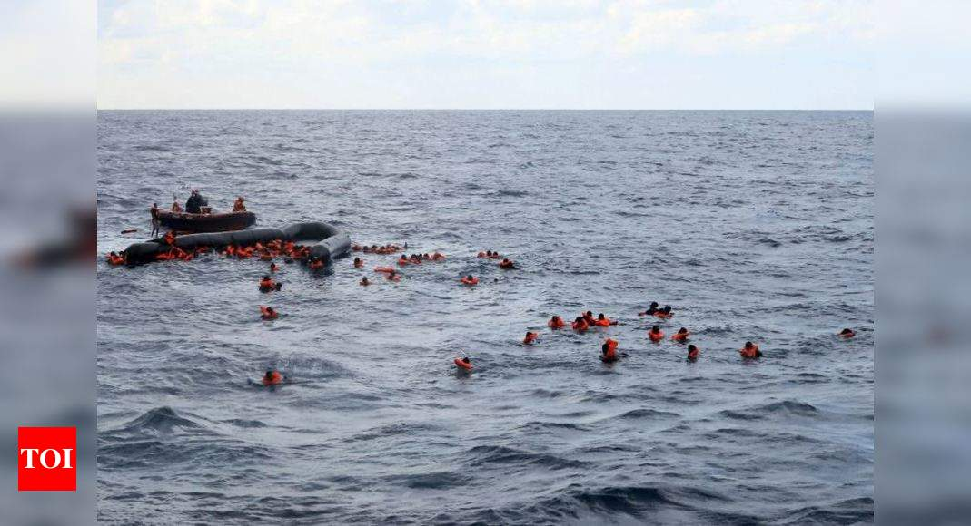 At least 74 migrants dead in shipwreck off Libya coast, IOM says – Times of India