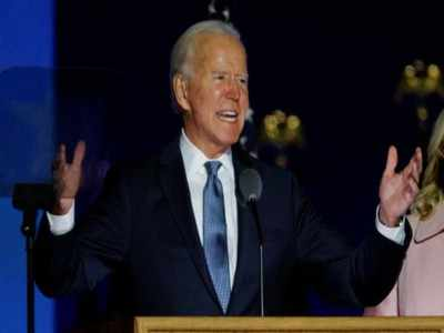 China Congratulates Biden on Election Victory