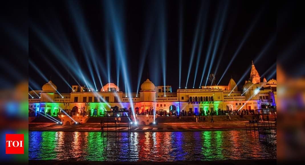 Grand Deepotsav celebrations start in Ayodhya |  India News – Times of India