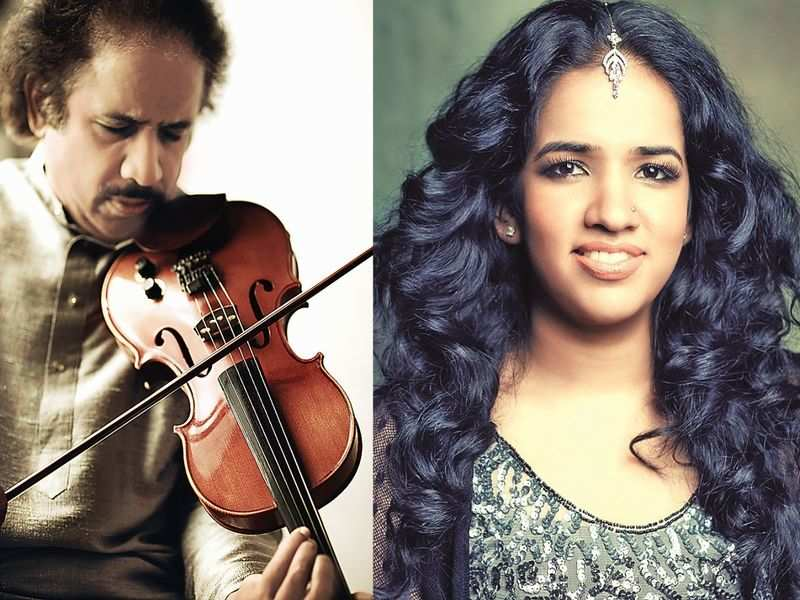 L Subramaniam and Bindu's next track is about facing darkness and coming out of it