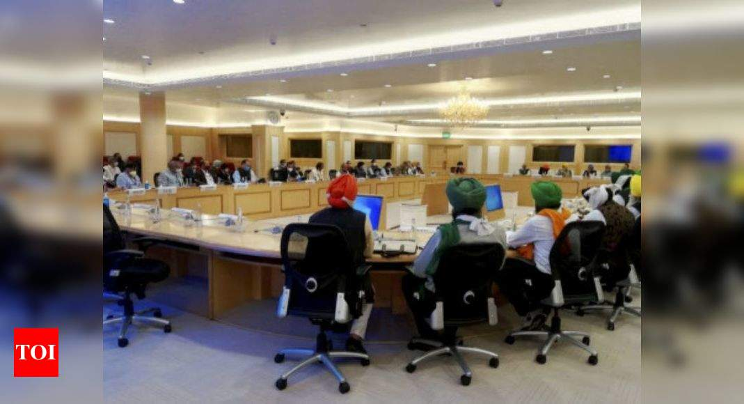 Centre to hold further talks with Punjab farmers on new farm laws: Narendra Singh Tomar | India News – Times of India