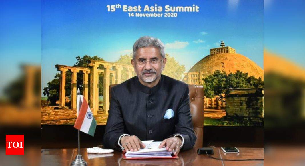 East Asia Summit: India talks about need for respecting territorial integrity, sovereignty | India News – Times of India