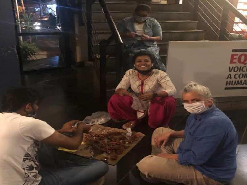 Team Ranga Shankara share pictures, wish everyone for Deepavali