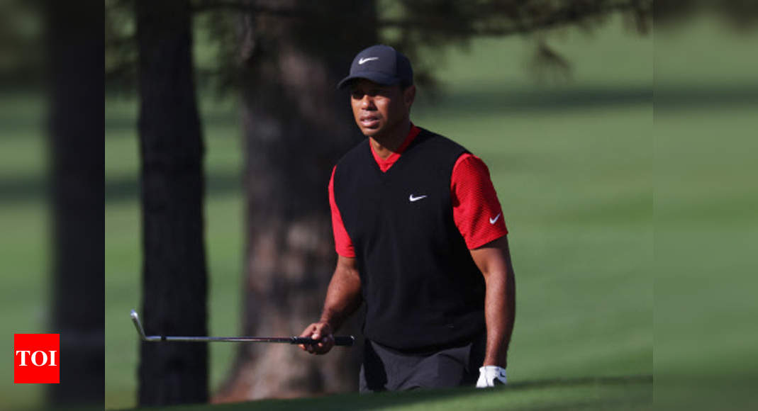 Imperfect 10 for Tiger Woods at Augusta's 12th hole | Golf News – Times of India