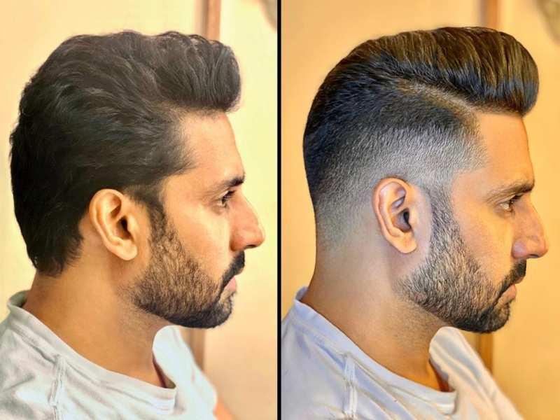 Style Alert Abhishek Bachchan Looks Dapper In His All New Haircut Hindi Movie News Times Of India