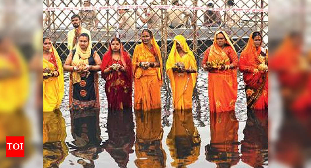 Delhi govt declares public holiday for Chhath Puja - Times of India