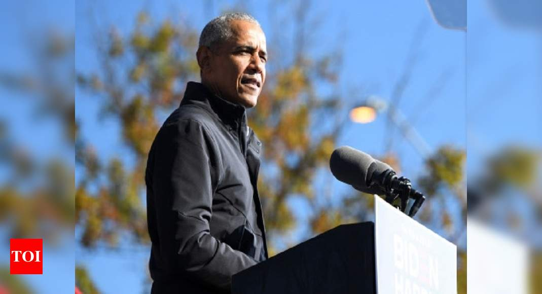 From Gandhi to Manmohan Singh, Obama's affection and concern for India shines through his book - Times of India