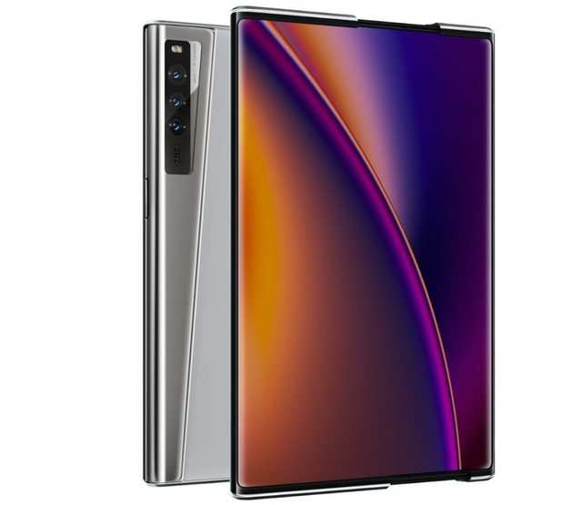 Oppo showcased rollable concept phone, AR Glass 2021 and CybeReal AR app at Inno Day 2020