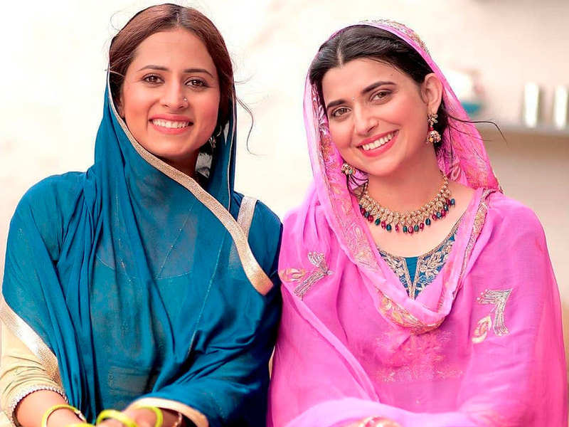 Sargun Mehta and Nimrat Khaira begin the second leg of 'Saunkan Saunkane'