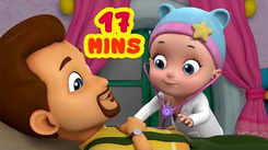 English Kids Poem: Nursery Song in English 'Johnny Johnny Yes Papa - Going To Doctor'