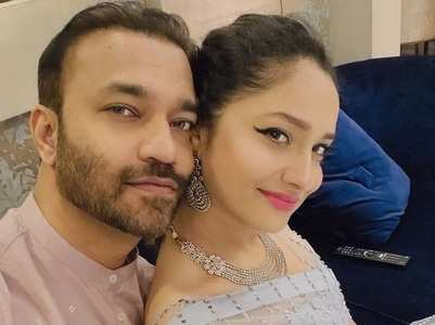 Ankita Lokhande and beau Vicky's loved-up pics