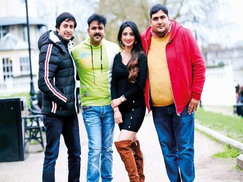 Harshika Poonacha is gearing up for her Bhojpuri debut