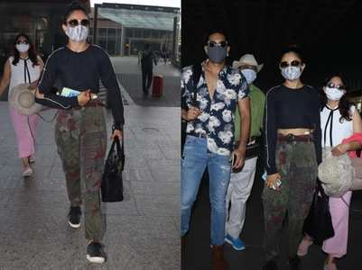 Rakul jets off to the Maldives with family