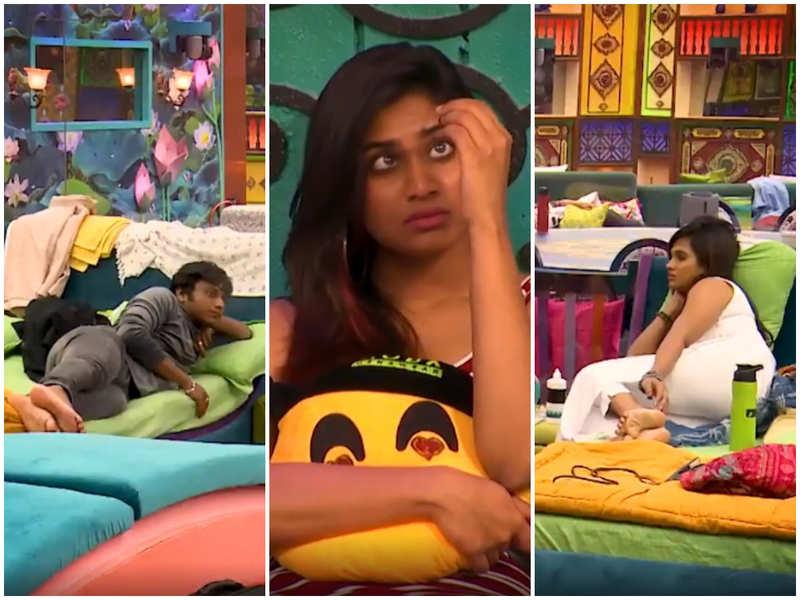 Bigg Boss Tamil 4: Aajeedh and Ramya call Shivani less involved