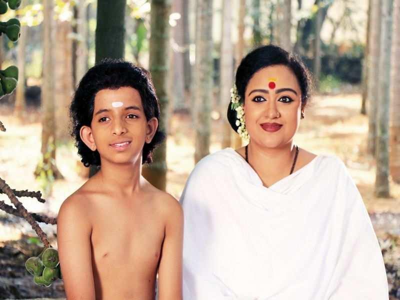 Prathama Prasad in a trilingual film on Shankaracharya
