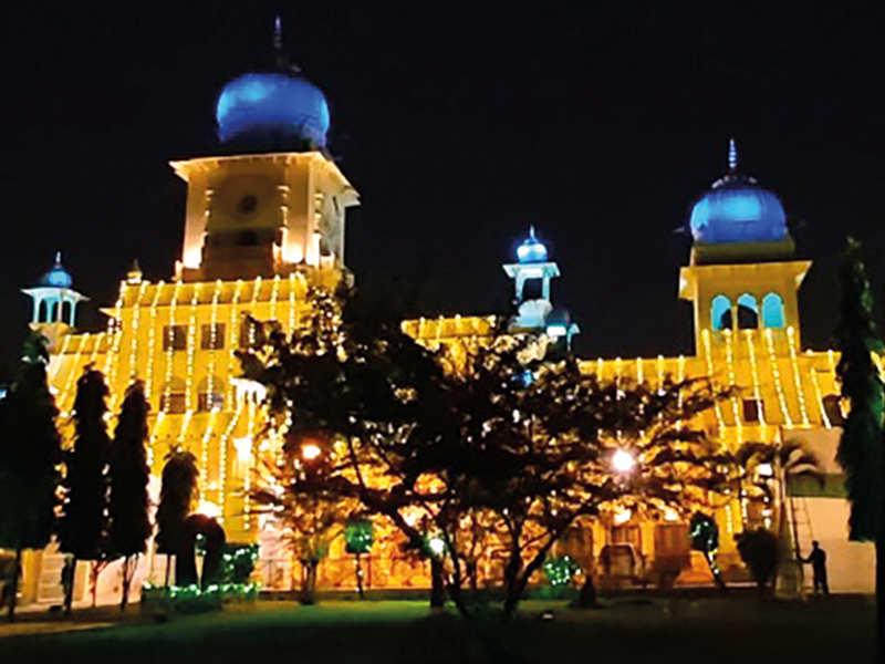 A bedecked Lucknow University for the cenetenary celebartions (BCCL/ Aditya Yadav)