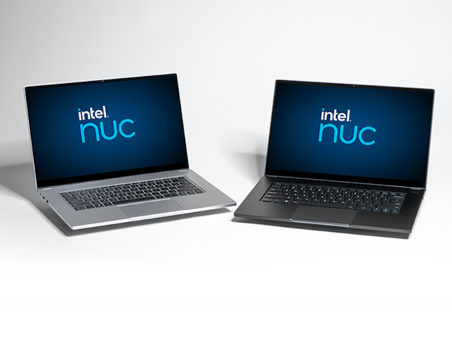 Intel to help small laptop brands take on HP, Dell with new NUC M15