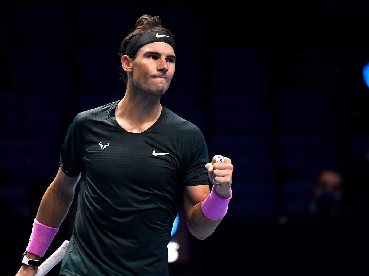 Dominic Thiem slumps as Rafael Nadal and Stefanos Tsitsipas prepare for ATP  Finals showdown