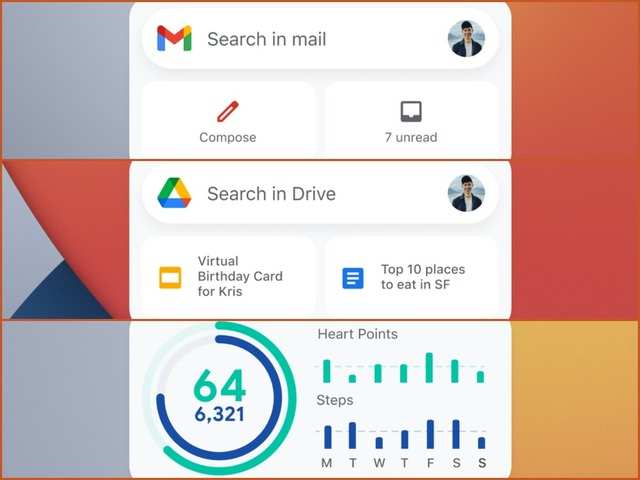 Google rolls out Gmail, Drive and Google Fit widgets for iPhone users