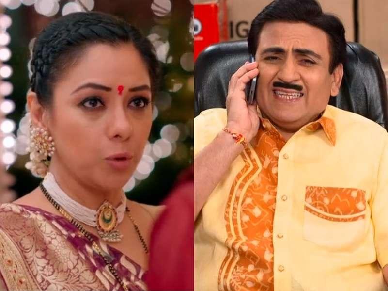 Anupamaa tops the TRP chart; Taarak Mehta Ka Ooltah Chashmah returns in top 5