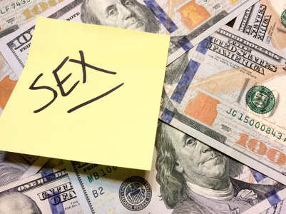 Money versus sex: What matters more?