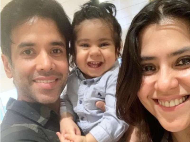 Ekta Kapoor showers brother Tusshar Kapoor with love on his bday; watch