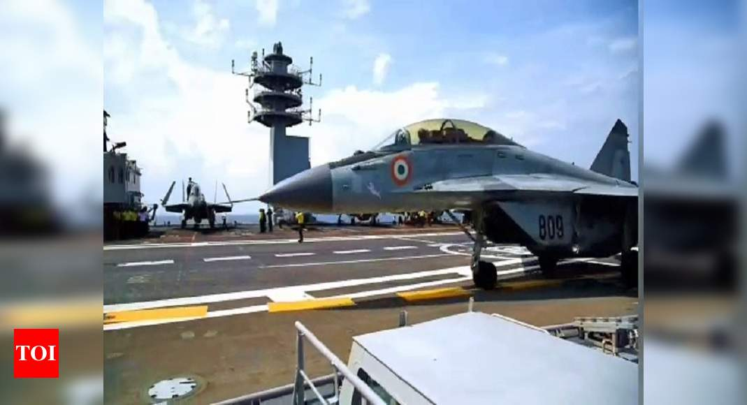 Malabar exercise of 'Quad' concludes with clear message for China - Times of India