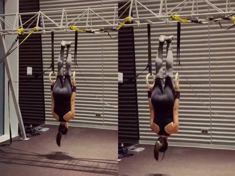 "Sushmita Sen shares a workout video; captions, ""I am a ..."