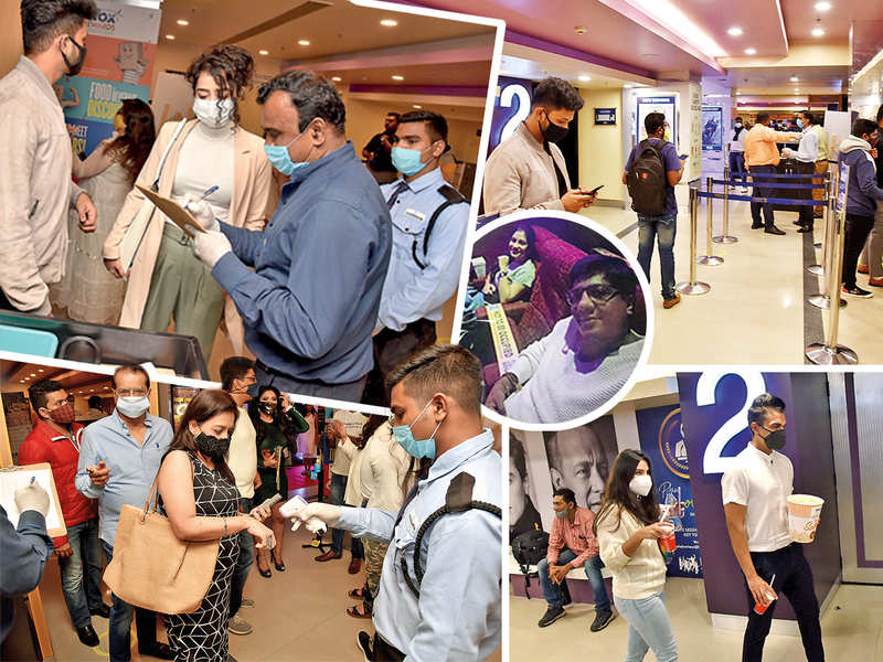 With cinema halls open, Bengalureans make the most of their movie outings