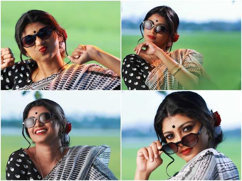 Shruthi Rajanikanth does classy photo tribute to Sheela