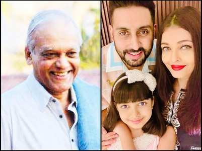 Aish remembers dad on his birth anniversary