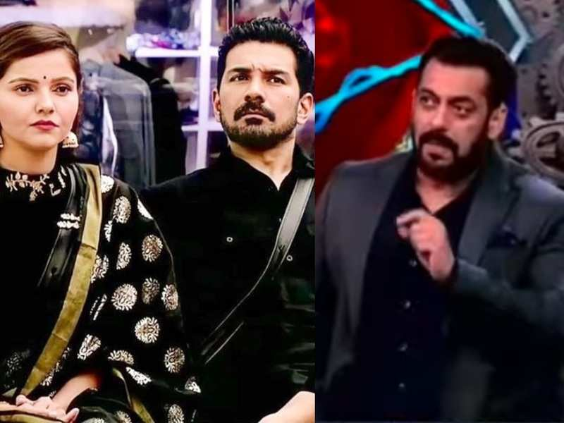 Bigg Boss 14: Salman Khan exposes Abhinav Shukla; accuses him of staying safe while wife Rubina Dilaik keeps getting nominated