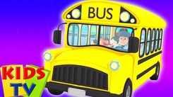 Popular Kids Songs and Hindi Nursery Rhyme 'Bus Ke Pahiye Ghume Gol Gol' for Kids - Check out Children's Nursery Rhymes, Baby Songs, Fairy Tales In Hindi