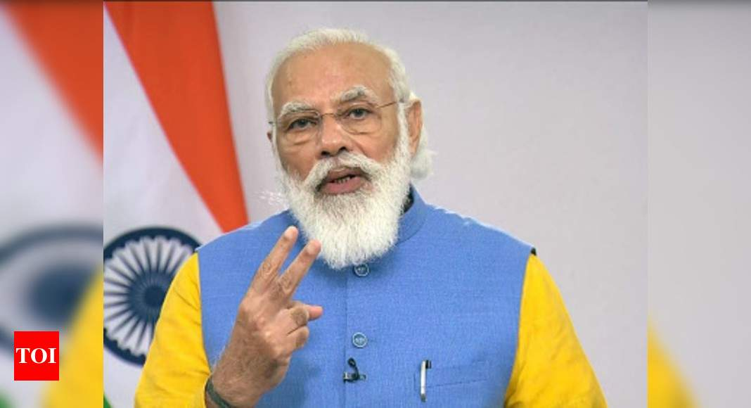 India has set target of cutting carbon footprint by 30-35%: PM Modi – Times of India