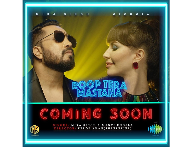 Giorgia Andriani on featuring in 'Roop tera Mastana' remix video