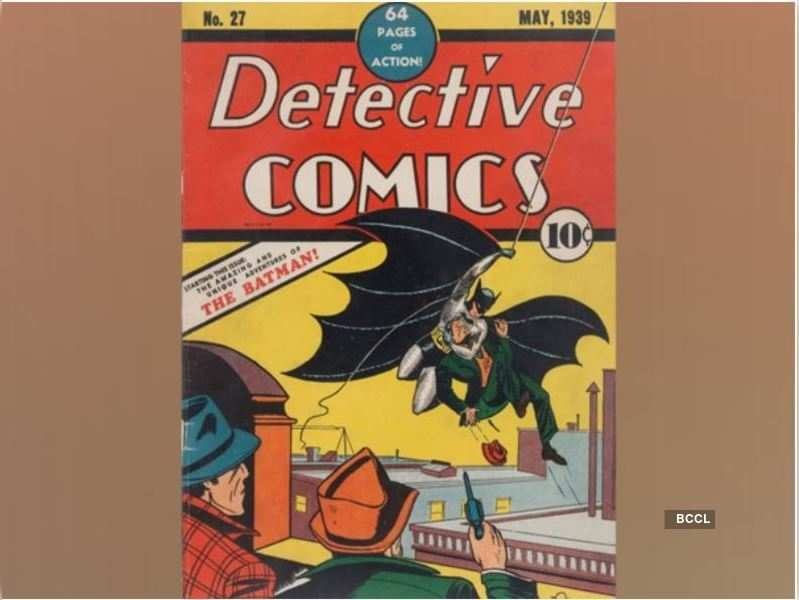 Batman's debut issue 'Detective Comics' No 27 sells for USD 1.5 million at auction