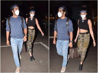 Tara & Aadar return from Maldives vacay