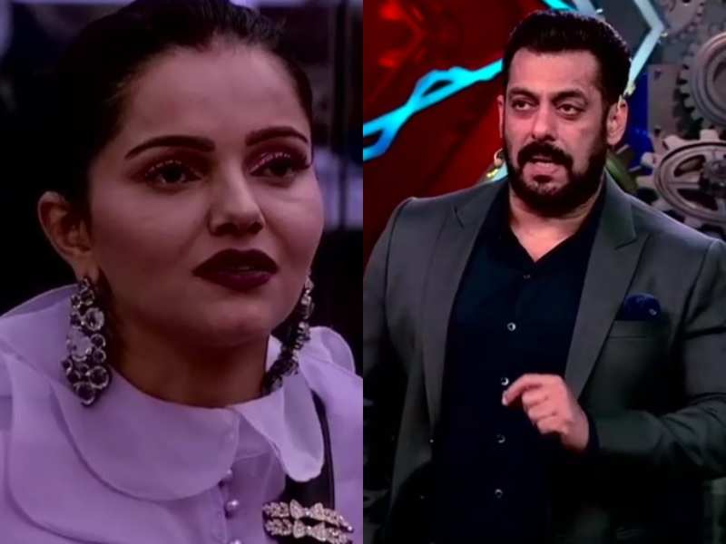 Bigg Boss 14: Rubina Dilaik breaks down after confessing her differences with husband Abhinav Shukla; Salman Khan suggests they can disagree respectfully