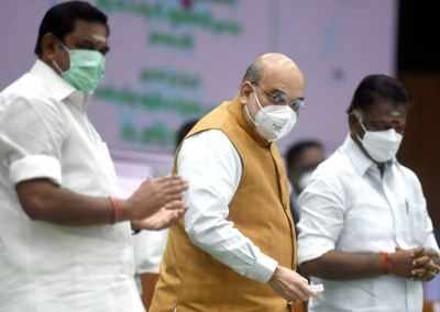 BJP-AIADMK tie-up to continue for 2021 Tamil Nadu polls | India News - Times of India