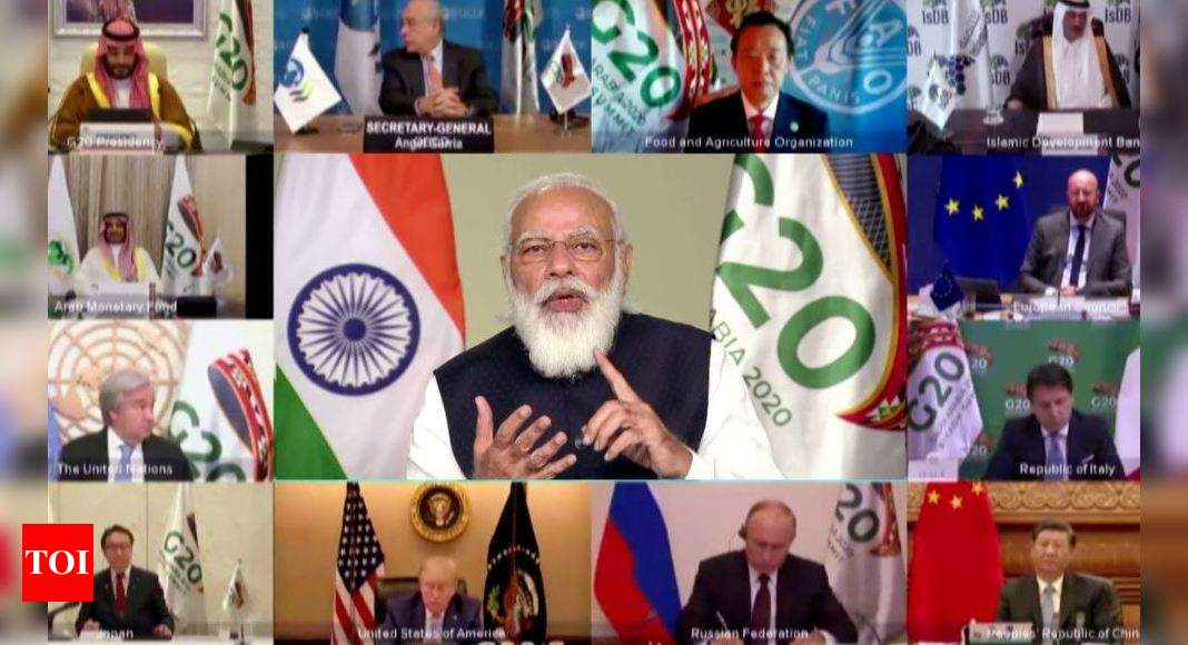 At G20, PM focuses on green policies - Times of India