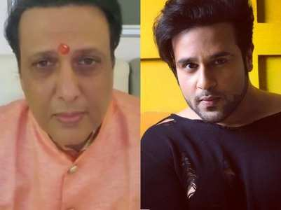 Govinda opens up on relation with Krushna