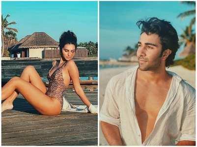 Aadar swoons over Tara's stunning pic