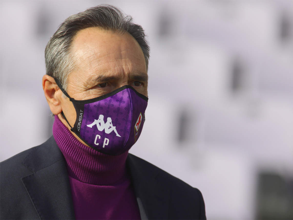 Nightmare debut for Prandelli as Fiorentina fall to Benevento   Football  News - Times of India