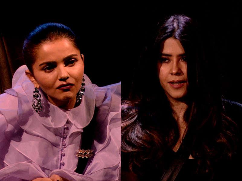 BB14: Rubina Dilaik attains the 'immunity stone', impresses Ekta Kapoor
