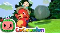 English Nursery Rhymes: Kids Video Song in English 'The Bear Went Over The Mountain'
