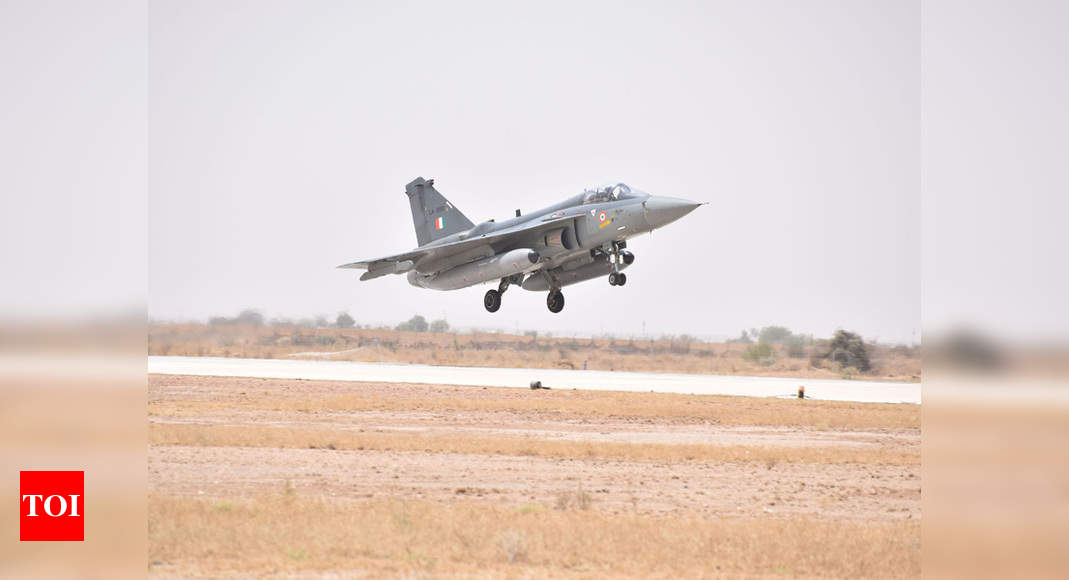 Astra air combat missile to be soon tested from Tejas fighter | India News – Times of India
