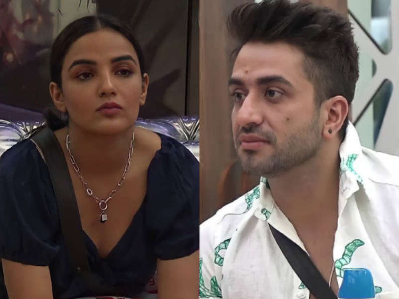 BB14: Jasmin Bhasin miffed with friend Aly Goni for not understanding her